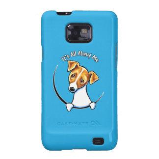 Jack Russell Terrier IAAM Off-Leash Art™ Samsung Galaxy SII Cases