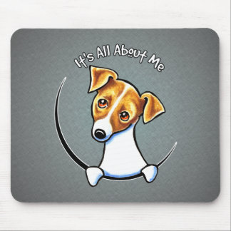 Jack Russell Terrier IAAM Off-Leash Art™ Mouse Pad