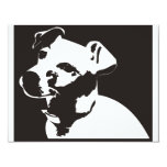 Jack Russell Terrier 4.25x5.5 Paper Invitation Card