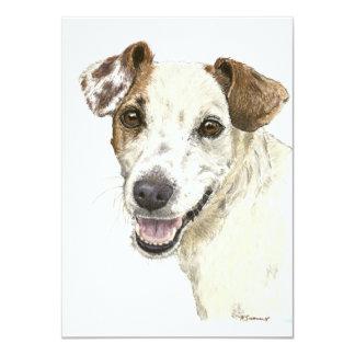 Jack Russell Terrier Invitation