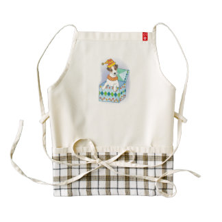 "Jack Russell Terrier ""Jack in the Box"" Apron"