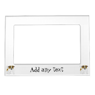 Jack Russell Terrier Just Add Text Magnetic Photo Frame