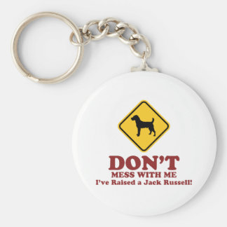 Jack Russell Terrier Keychain