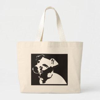 Jack Russell Terrier Large Tote Bag