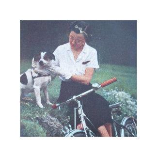 Jack Russell Terrier Impresión De Lienzo