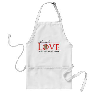 Jack Russell Terrier Love Apron