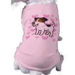 Jack Russell Terrier Love Dog T-shirt