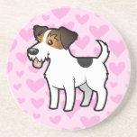 Jack Russell Terrier Love Drink Coasters