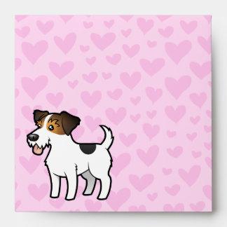Jack Russell Terrier Love Envelope