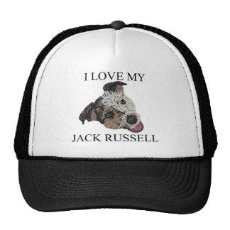 JACK RUSSELL TERRIER Love Trucker Hats