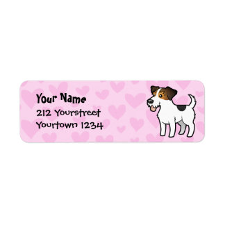 Jack Russell Terrier Love Return Address Label