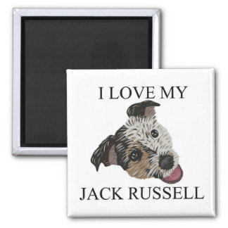 JACK RUSSELL TERRIER Love Magnets
