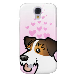 Case-Mate Barely There Samsung Galaxy S4 Case with Jack Russell Terrier Phone Cases design