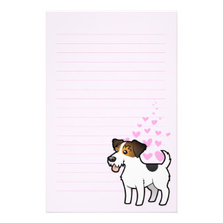 Jack Russell Terrier Love Stationery