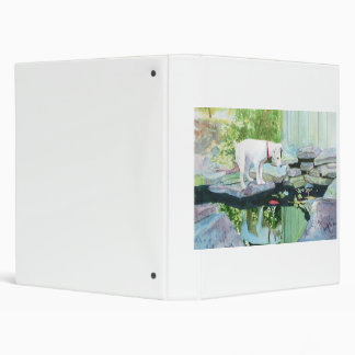 Jack Russell Terrier Lucy 3 Ring Binder