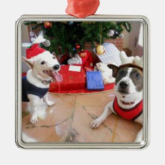 Jack Russell Terrier Metal Ornament