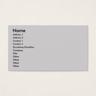 Jack Russell Terrier Mix - Winnie - Oman Business Card