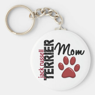 Jack Russell Terrier Mom 2 Keychain