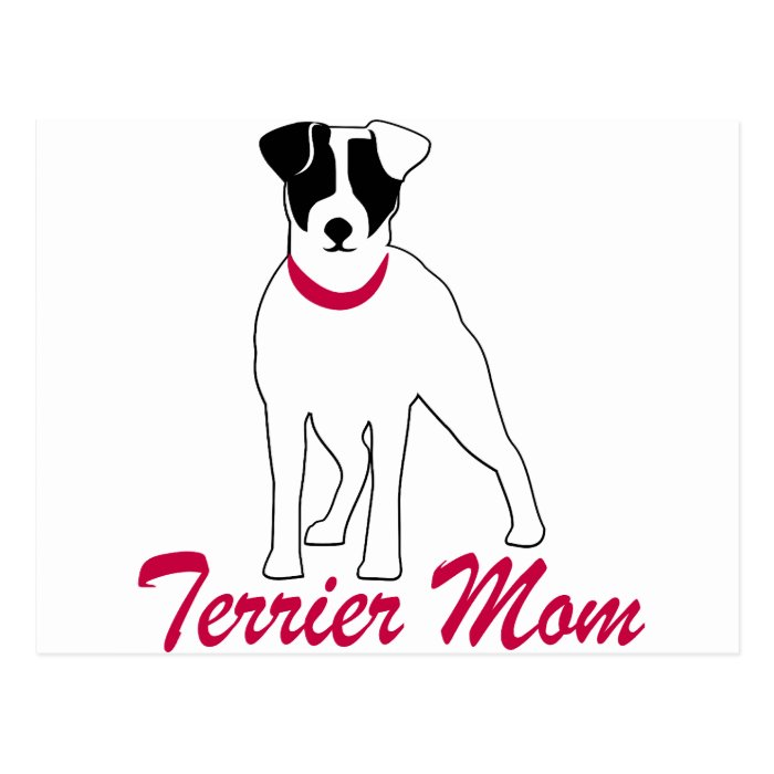 Jack Russell Terrier Mom Postcard