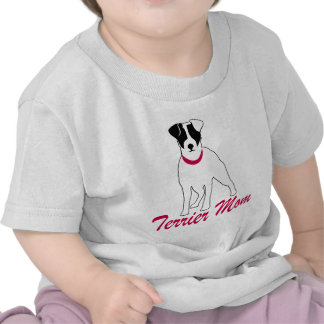 Jack Russell Terrier Mom Tee Shirts