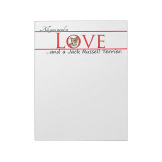 Jack Russell Terrier Notepad
