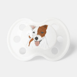 Jack Russell Terrier Baby Pacifiers