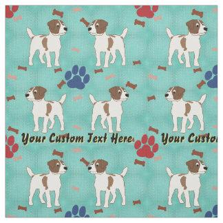 Jack Russell Terrier - personalizado Telas