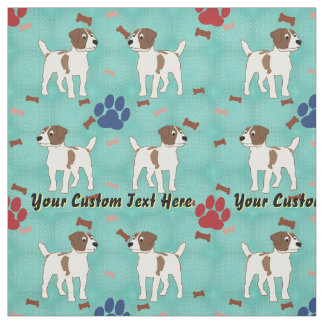 Jack Russell Terrier - Personalized Fabric