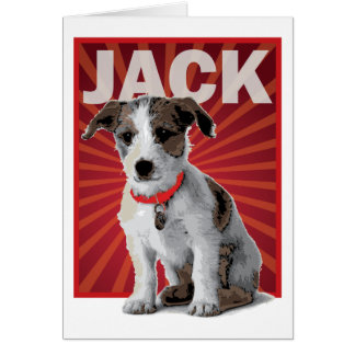 Jack Russell Terrier Pet Owner Greeting Card