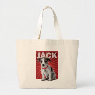 Jack Russell Terrier Pet Owner Jumbo Tote Bag