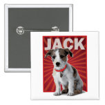 Jack Russell Terrier Pet Owner Pinback Button
