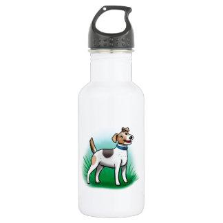 Jack Russell Terrier 18oz Water Bottle