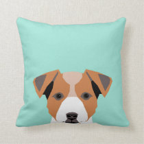 Jack Russell Terrier - Pillow for dog owner,