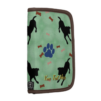 Jack Russell Terrier Play Bow Folio Planners