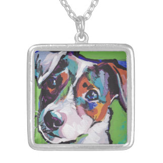 Jack Russell Terrier Pop Art Necklace