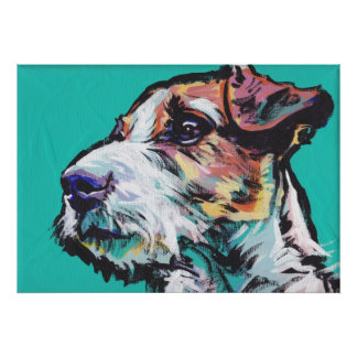 Jack Russell Terrier Pop Art Print