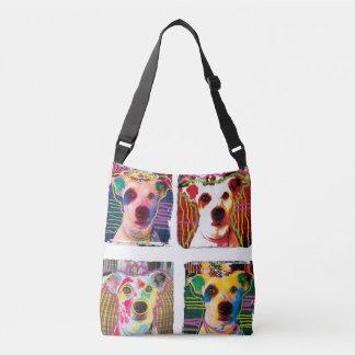 Jack Russell Terrier pop art tote bag