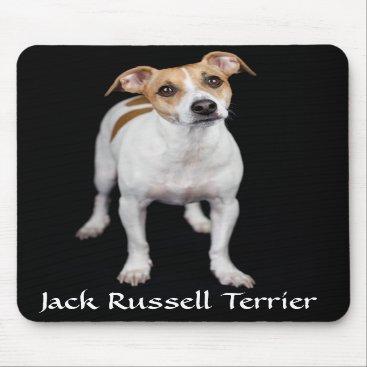 alwaysdogs Jack Russell Terrier Portrait Mousepad