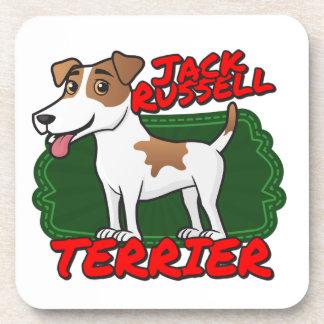 Jack Russell Terrier Posavasos