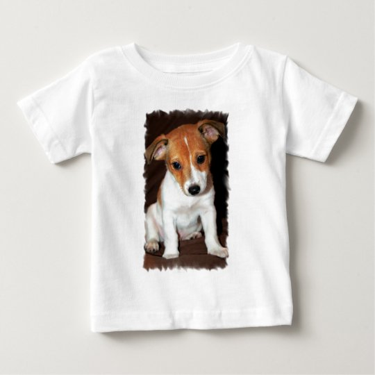 Jack Russell Terrier Puppy Dog  Baby T-Shirt