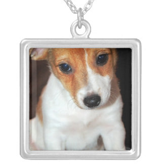 Jack Russell Terrier Puppy Dog Necklace