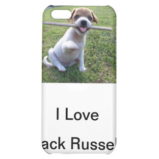 Jack Russell Terrier Puppy iPhone 5C Cases