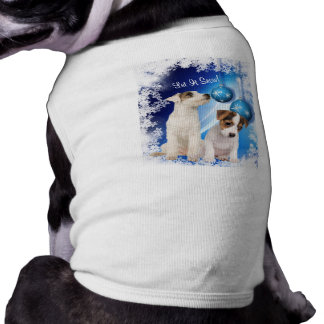 Jack Russell Terrier Puppy Let It Snow Design Shirt