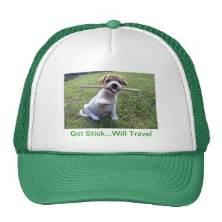 Jack Russell Terrier Puppy Trucker Hat