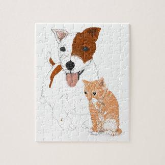 Jack Russell Terrier Rompecabeza Con Fotos