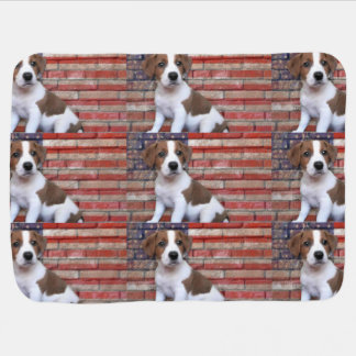 Jack Russell Terrier Receiving Blanket