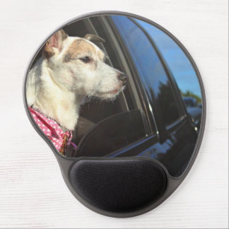 Jack Russell Terrier Ride to the Beach Mousepad Gel Mouse Pad
