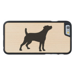 Carved ® iPhone 6 Bumper Wood Case with Jack Russell Terrier Phone Cases design
