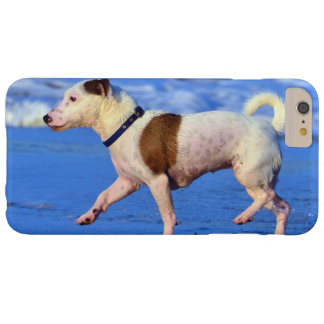 Jack Russell Terrier Running On The Beach Barely There iPhone 6 Plus Case