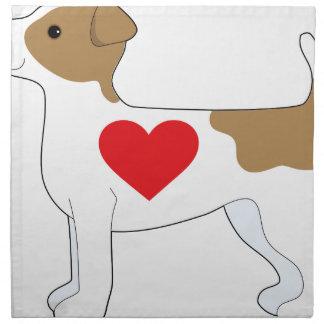 Jack Russell Terrier Servilletas